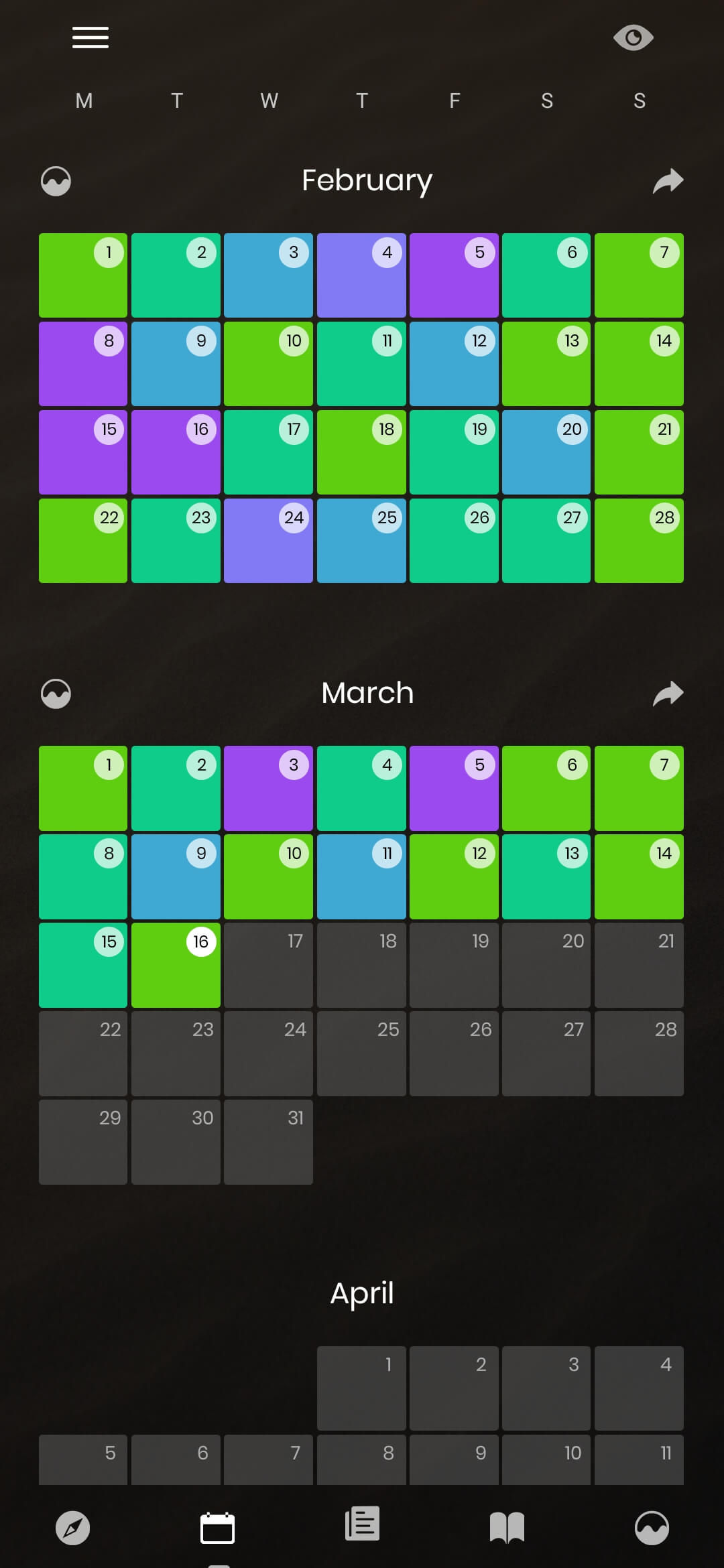 Journal Diary App Screenshot